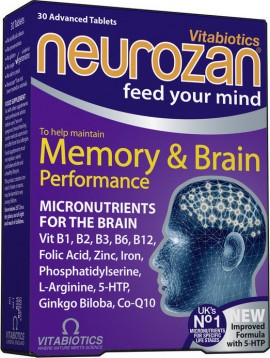QUEST VITAMINS Vitabiotics Neurozan 30 Ταμπλέτες