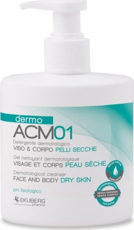 Dermo ACM01 Face and Body Cleanser for Dry & Damaged Skins 300ml