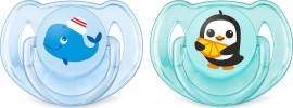 PHILIPS AVENT Classic Pacifiers Scf169/37 6-18m 2 Τμχ