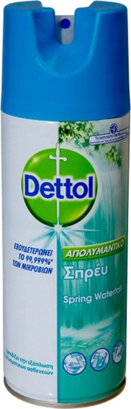 Spray desinfectante de cascada de manantial DETTOL 400ml