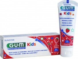 GUM Kids Toothpaste 2-6 Years Strawberry 50ml