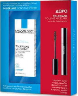 La Roche Posay Promo Toleriane Sensitive 40ml & ΔΩΡΟ Toleriane Mini Mascara