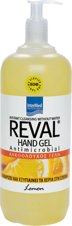 INTERMED Reval Handgel Zitrone 1lt