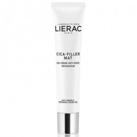 LIERAC Cica Filler Mat Anti Wrinkle Repairing Cream Gel Normal to Combination Skin 40ml