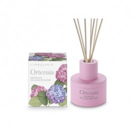 LERBOLARIO ORTENSIA Hydrangea Fragrance For Scented Wood Sticks 125ml