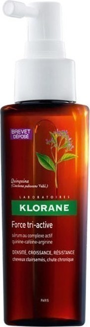 KLORANE - Quinine Force Tri-Active Serum For Chronic Hair Loss | 100ml