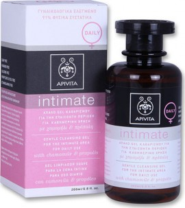 APIVITA Intimate Daily Gentle Cleansing Gel with Chamomile & Propolis 200ml