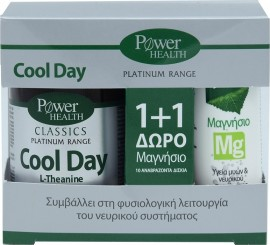 POWER HEALTH Cool Day 30 tablets + Magnesium Mg 10 effervescent tablets
