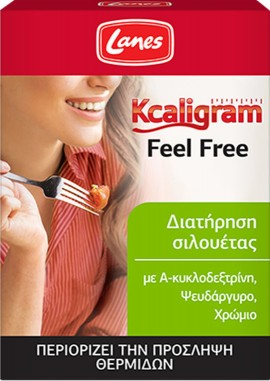 LANES Kcaligram Feel Free 16 tabletas