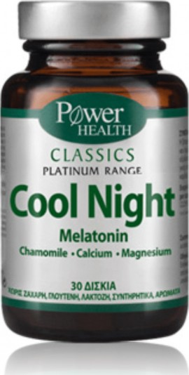 POWER HEALTH Classics Platinum Cool Night 30 tablets