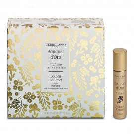 L Erbolario Perfume with Multipurpose Twill Band Golden Bouquet- 10ml