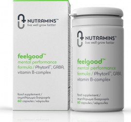 NUTRAMINS Feelgood Mental Performance Formula 60 Capsules