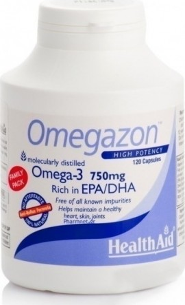 HEALTH AID Omegazon 750mg 120 κάψουλες