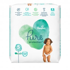 Pampers Pure Protection Nr. 5 (11 + kg) 24-tlg