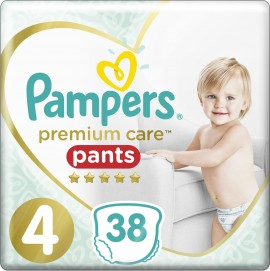 PAMPERS Premium Care Pants Nr. 4 (9-15 kg) 38-tlg