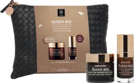 APIVITA Promo Queen Bee Holistic Set Kρέμα Lifting Νύχτας 50ml και ΔΩΡΟ Queen Bee Kρέμα Lifting Ματιών 15ml