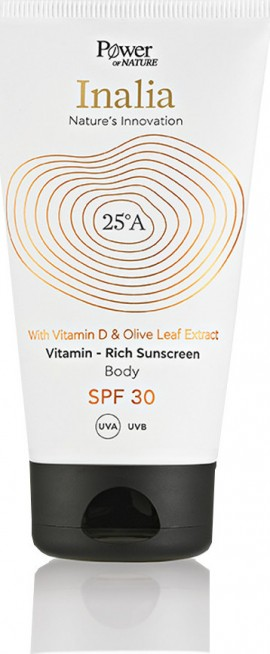 POWER HEALTH Inalia mit Vitamin D und Olivenblattextrakt Rich Body Sunscreen SPF30 150ml