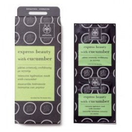 APIVITA EXPRESS BEAUTY HYDRATION MASK CUCUMBER 2x8ml