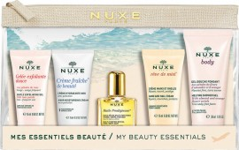 NUXE Promo Creme Fraiche Hydratante 48h 15ml & Huile Prodigieuse 10ml & Reve De Miel 15ml & Body Melting Shower Gel 30ml & GelDouce 15ml