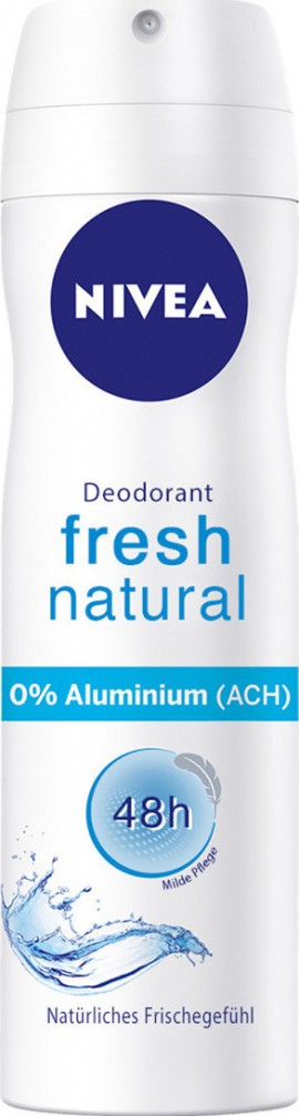 NIVEA Fresh Natural Anti-Perspirant 48h Deodorant Spray 150ml