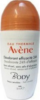 Avene Body Deodorant Efficacite 24h Roll-On 50ml