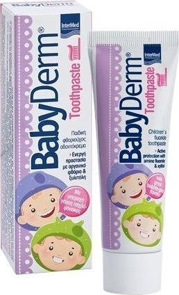 INTERMED BABYDERM TOOTHPASTE BUBBLEGUM 50ml