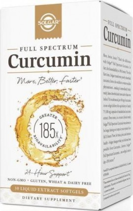 SOLGAR Curcumin Full Spectrum Softgel 30s