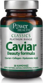 POWER HEALTH Classics Platinum Caviar Beauty Formula 30 κάψουλες