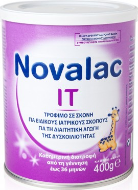 NOVALAC Milk Powder IT 0m + 400gr