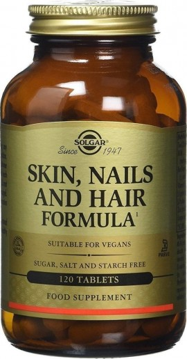 SOLGAR Skin, Nails And Hair 120 ταμπλέτες