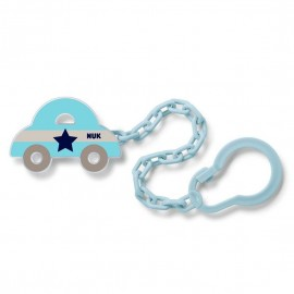 NUK Pacifier Chain with Loop In Various Designs 1pc