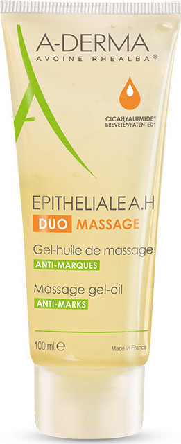 A-DERMA Pitheliale A.Η Duo Massage Gel Huile De Massage Anti Marques 100ml