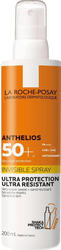 La Roche Posay Anthelios Unsichtbares Spray mit Shaka Protect Tech SPF50 + 200ml