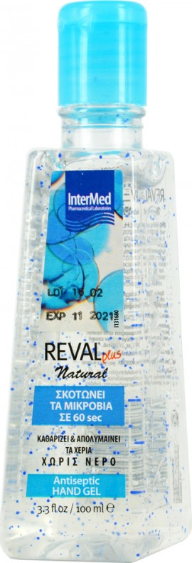 INTERMED Reval Hand gel Natural 100ml