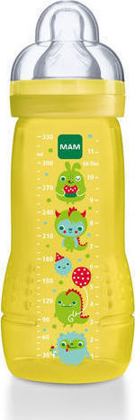 MAM Easy Active Baby Bottle σιλικονης 4+ Μηνων 330ml