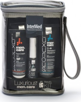 INTERMED LUXURIOUS Mens Care Travel Kit