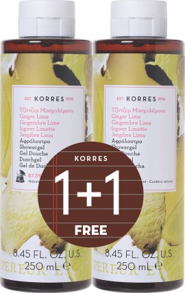 KORRES Ginger Lime Showergel 2x250ml