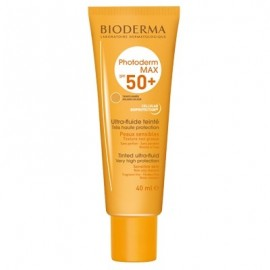 BIODERMA PHOTODERM MAX AQUAFLUIDE TEINTE DOREE SPF50+ 40ml