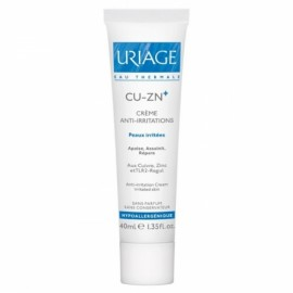URIAGE Cu-Zn + Anti-irritation Cream 200ml Anti-Irritation Cream.