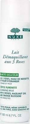 NUXE Lait Demaquillant 3 Roses 200ml