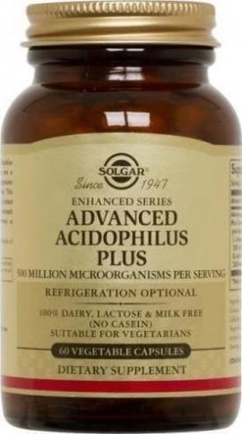 SOLGAR Advanced Acidophilus Plus Vegic
