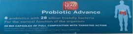 NUTRALEAD Probiotic Advance 28 Biokapseln