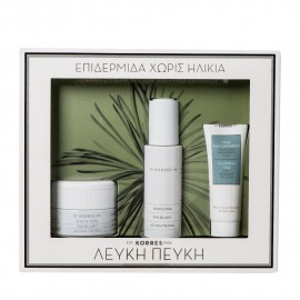 KORRES Set White Pine Day Cream 40ml & Volume Relilling Serum 30ml & Olympus Tea Cleansing Cream 16ml