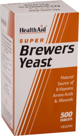 HEALTH AID Brewers Yeast 500 tablets