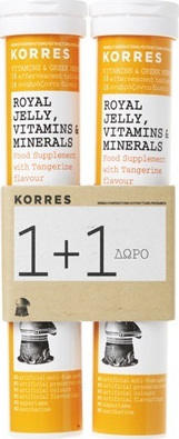 KORRES Royal Jelly Vitamins & Minerals 2 x 18 effervescent