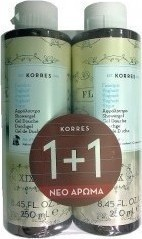 KORRES Showergel 1 + 1 yoghurt 250 ml + 250 ml