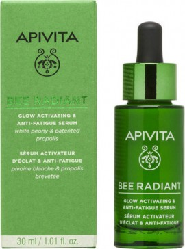 APIVITA Bee Radiant White Peony & Patentiertes Propolis Glow Activating & Anti-Fatigue Serum 30ml