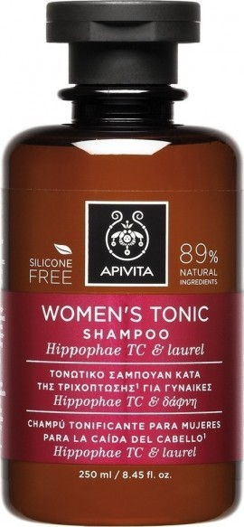 APIVITA Toning Anti-Hair Loss Shampoo for Women with Hippophae Tc & Laurel 250ml