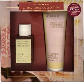 KORRES A FRAGRANCE COLLECTION BELLFLOWER EDT WOMEN 50ML & ΔΩΡΟ BELLFLOWER BODY MILK 125ML