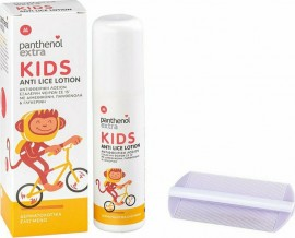 PANTHENOL EXTRA Kids Anti Lice Lotion & Comb 125ml